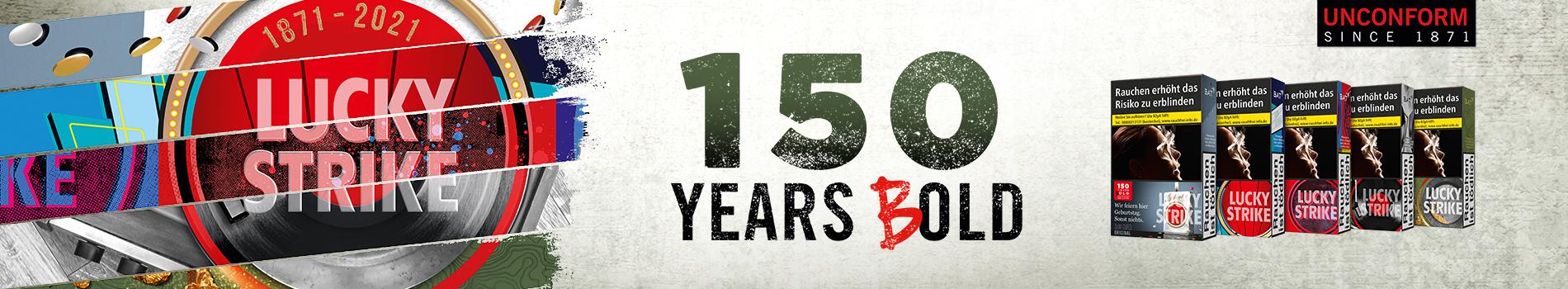Lucky 150 Jahre