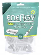 ENERGY+ Menthol Filter Tips