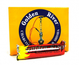 Golden River Shishakohle, 40 mm, 10 Rollen mit 10 Tabletten