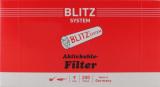BLITZ Pfeifenfilter Kohle 9mm 200er